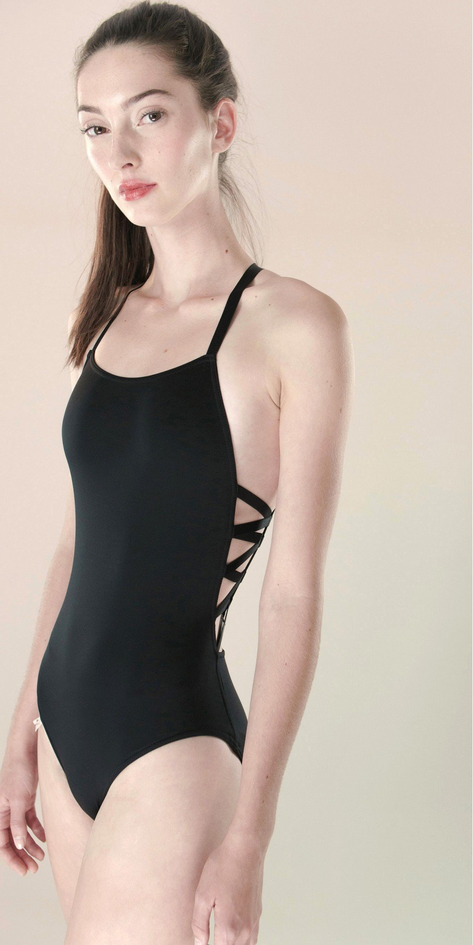 CHEVRON laced20back20leotard blk 1 r