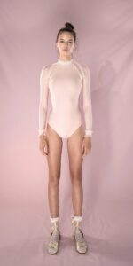 ELEANORE backless leotard blush 1 r 2