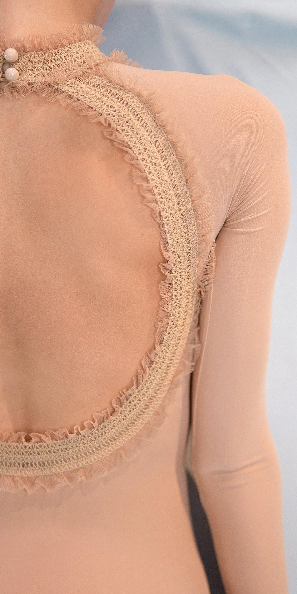 ELEANOR nude backless leotard 3 r
