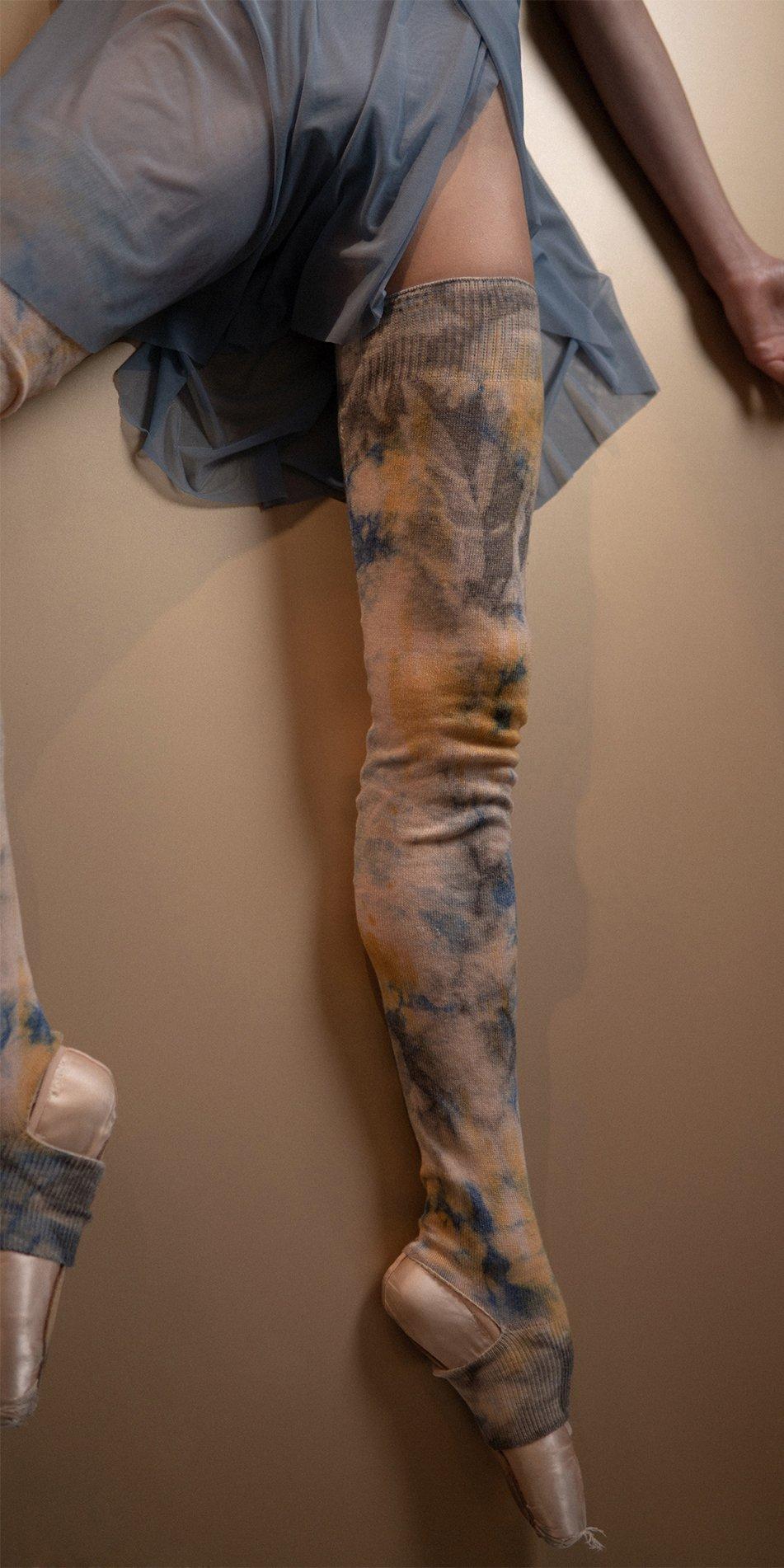 GRES blue wrap skirt Bloom 2