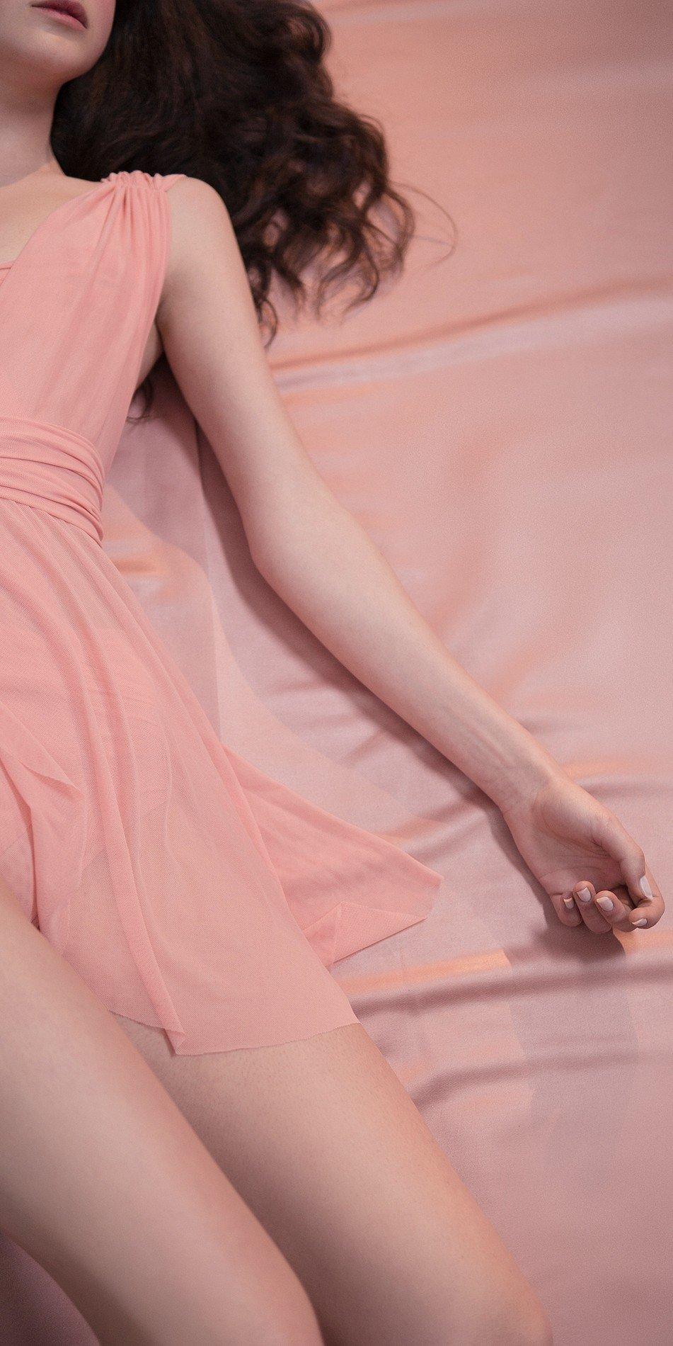 GRES draped20wrap20dress blush 1 r 2