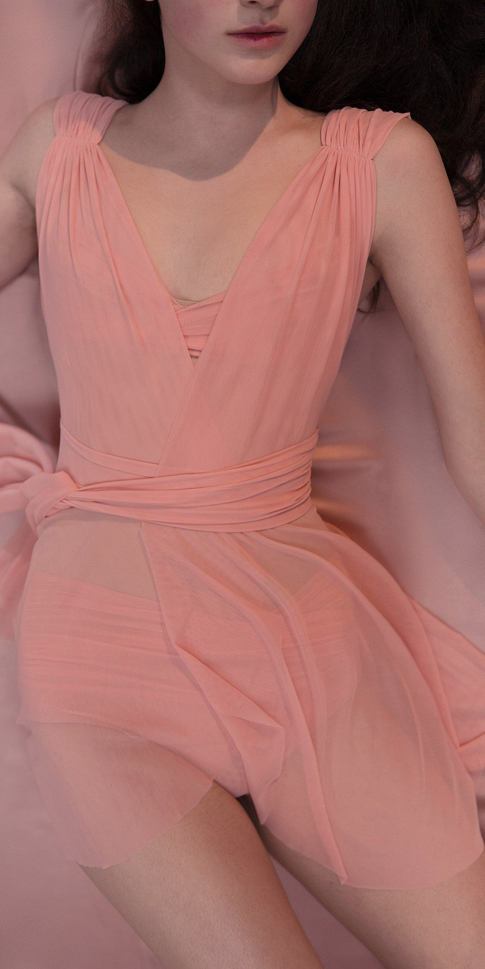 GRES draped20wrap20dress blush 3 r 2