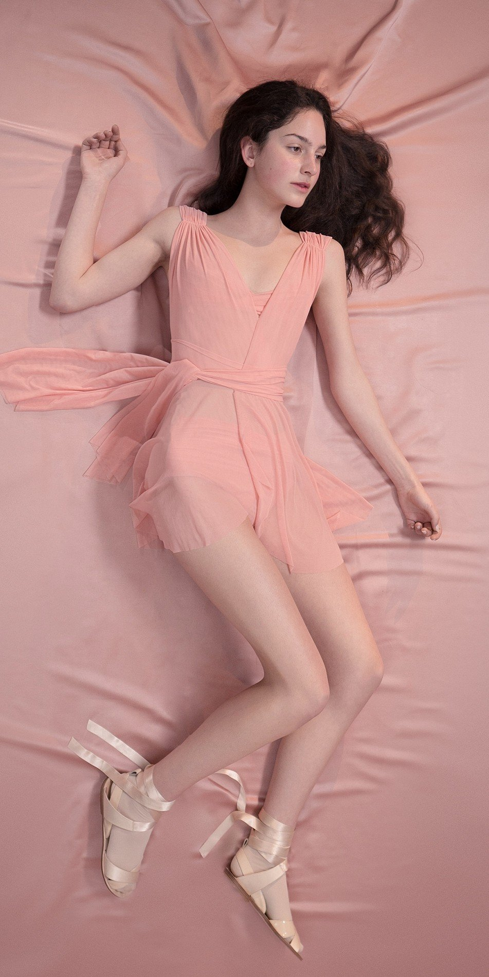 GRES draped20wrap20dress blush 4 r 2