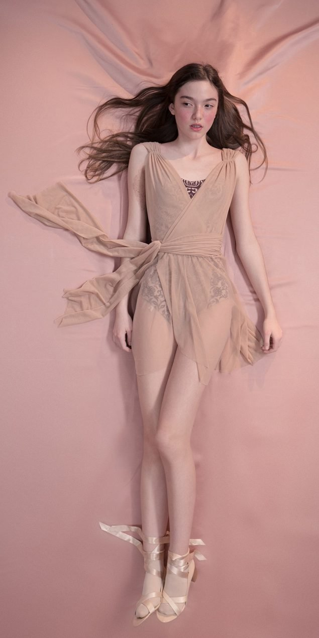 GRES draped20wrap20dress nude 1 r 1