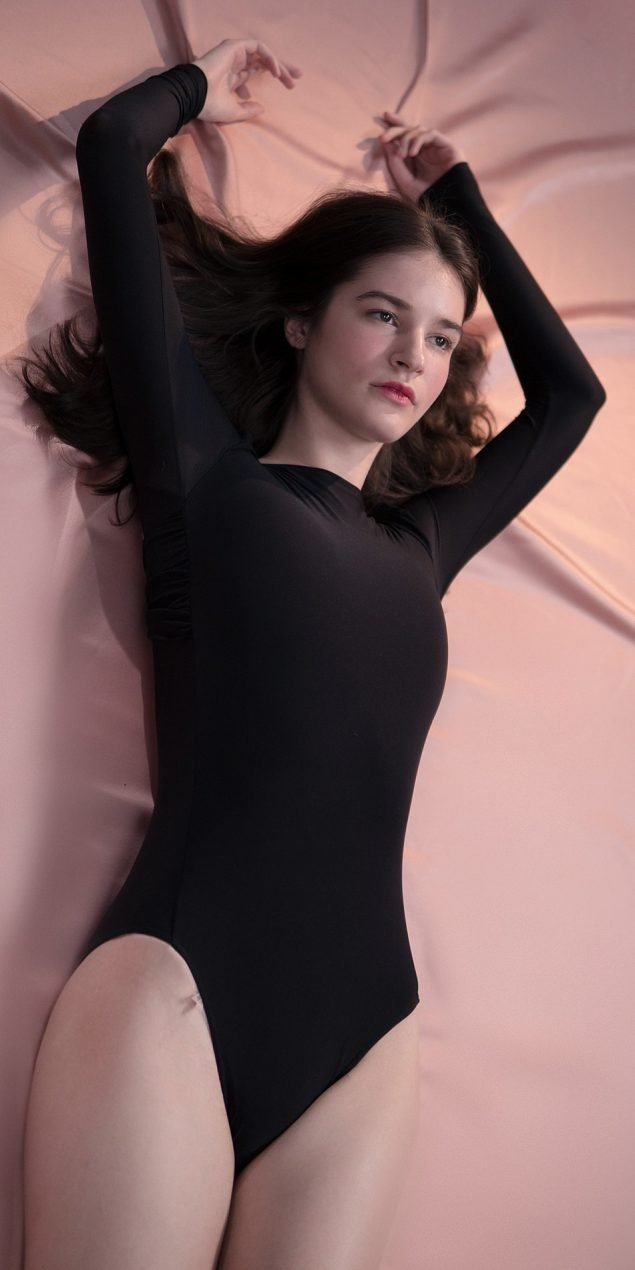 GRES knotted20back20leotard20with20sleeves blk 8 r 1