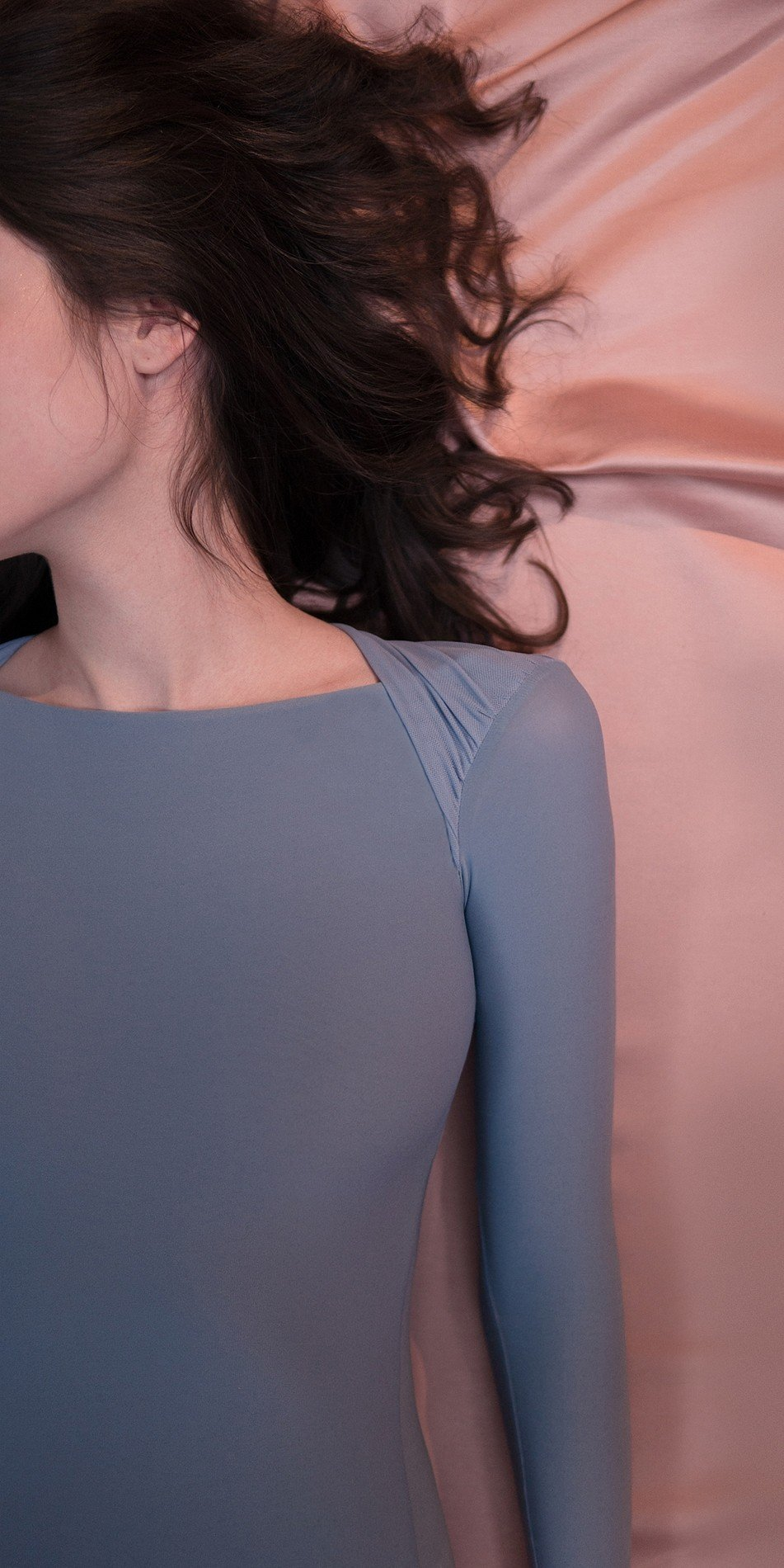 GRES knotted20back20leotard20with20sleeves blue 4 r 1