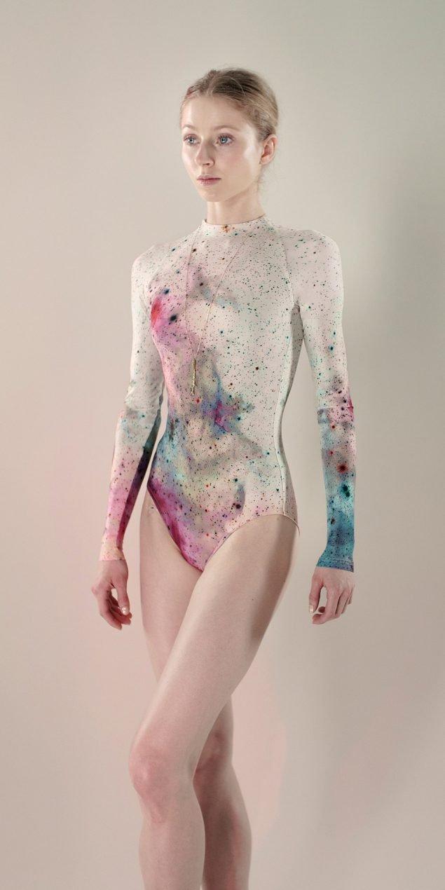 Galaxy sleeves leotard aquarelle 1 r