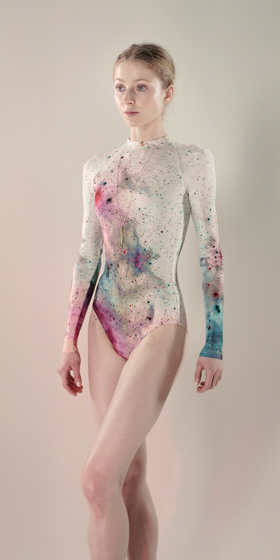 Galaxy sleeves leotard aquarelle 1 r