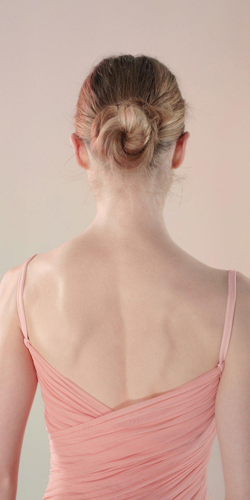 Gres draped leotard blush 1 r