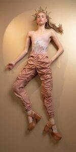N PARACUTE blush draped pants Bloom 7