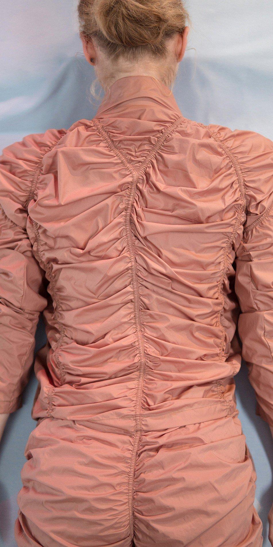 PARA20CUTE draped20blush jecket 3 r 2