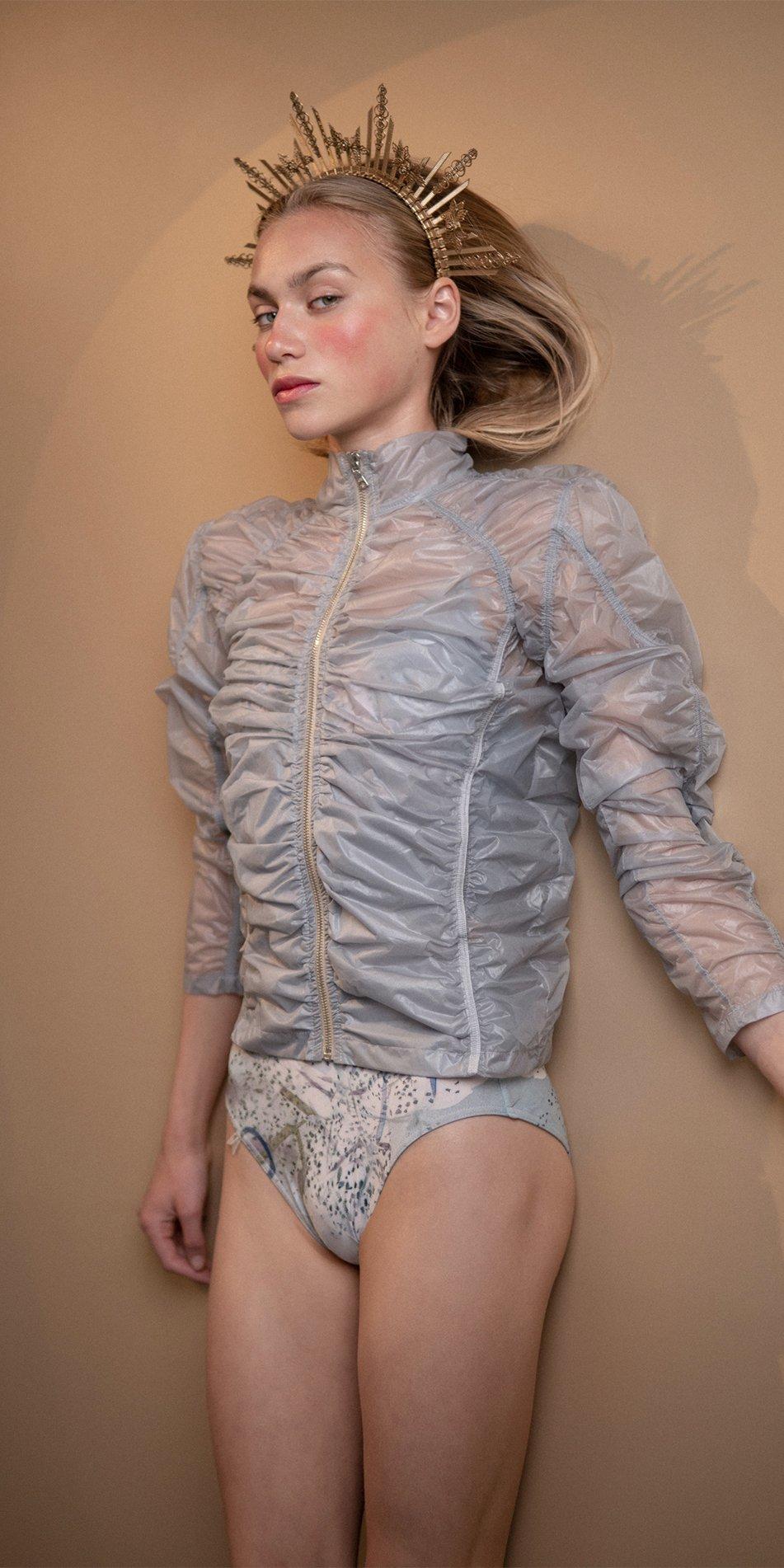 PARACUTE ice draped jacket Bloom 1