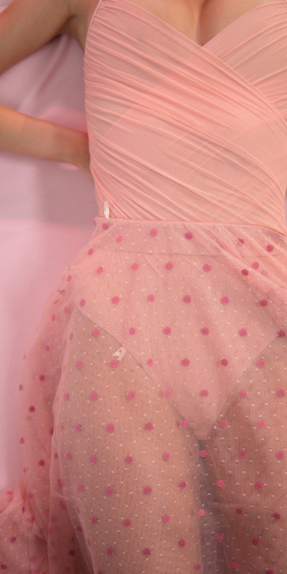 POLKA20TULLE blush long square skirt 3 r