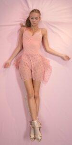 POLKA20TULLE blush mini square skirt 1 r