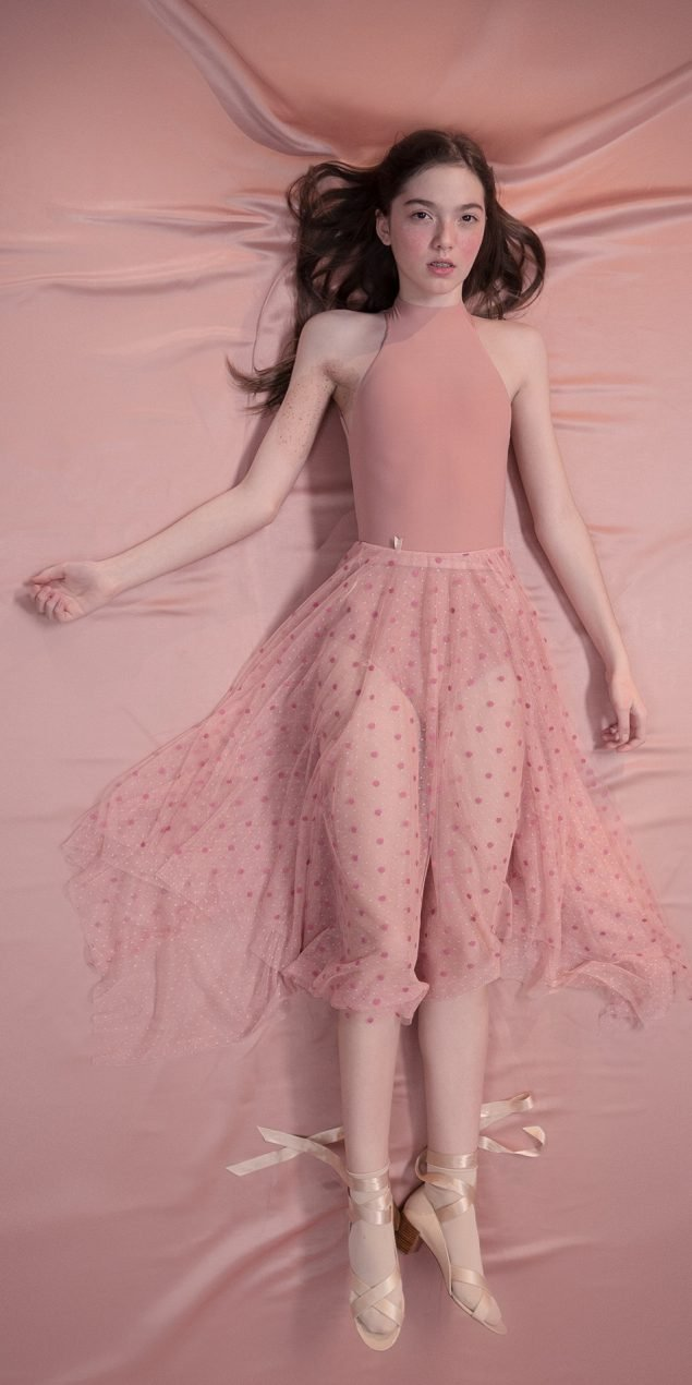 POLKA20TULLE long20skirt blush 3 r