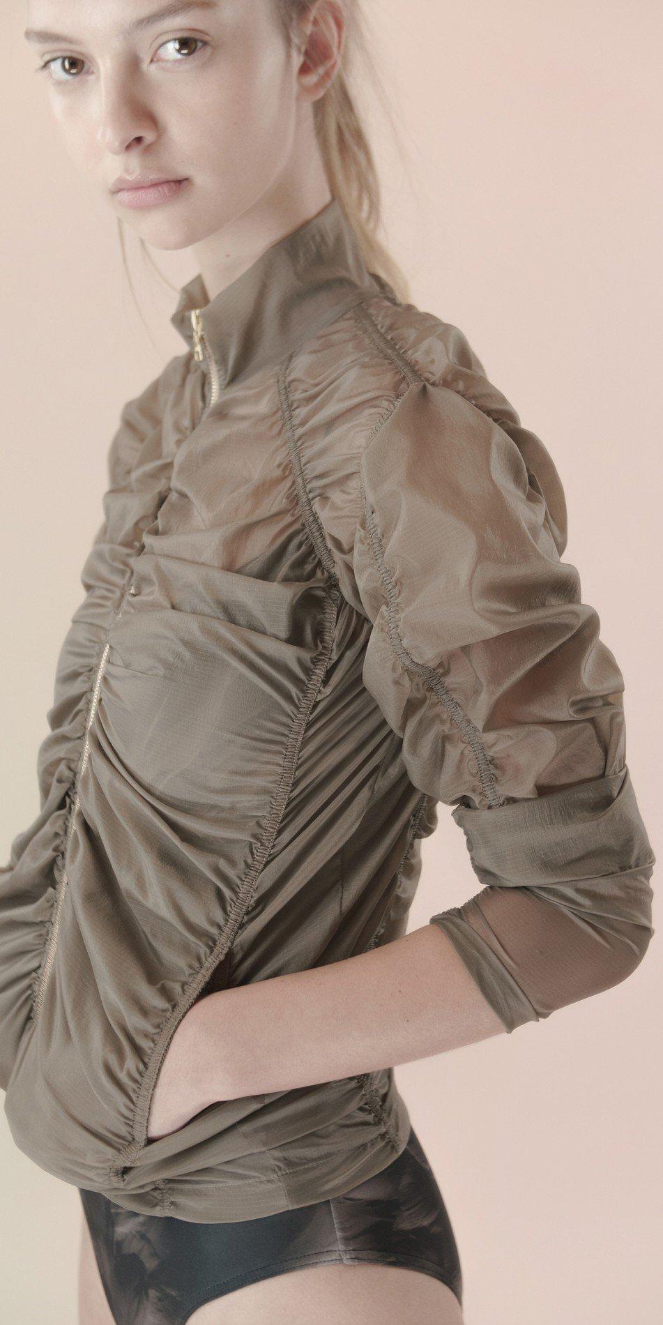 para cute khaki jacket 5 r
