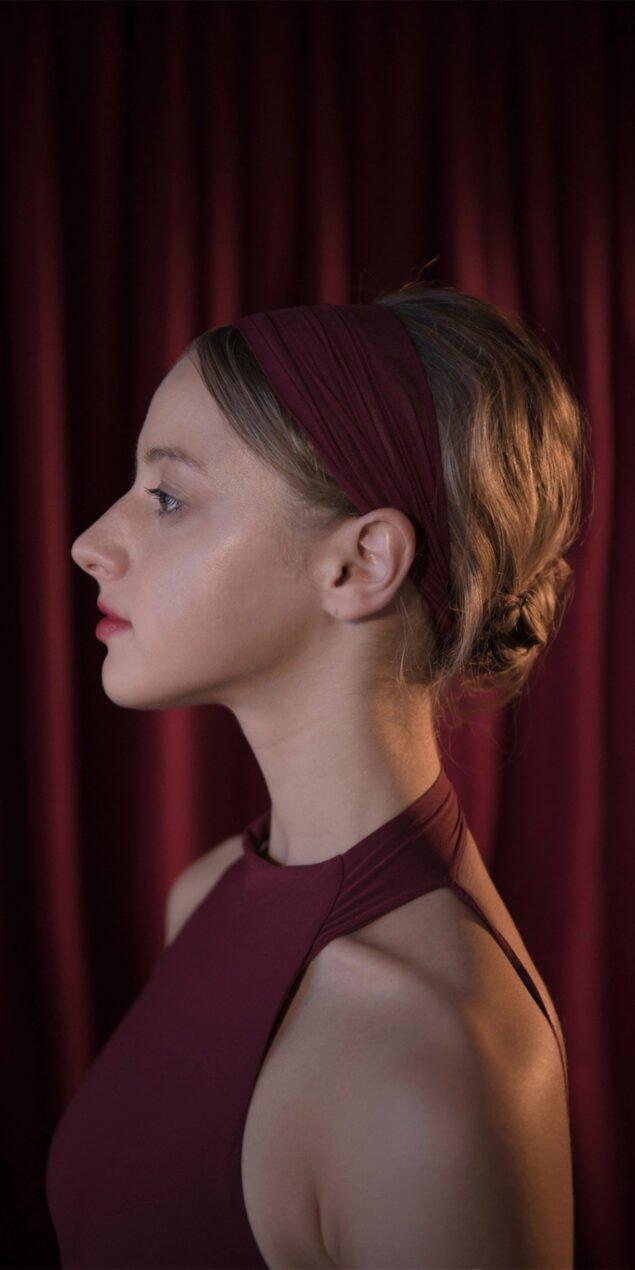 BALERINA red headband 1