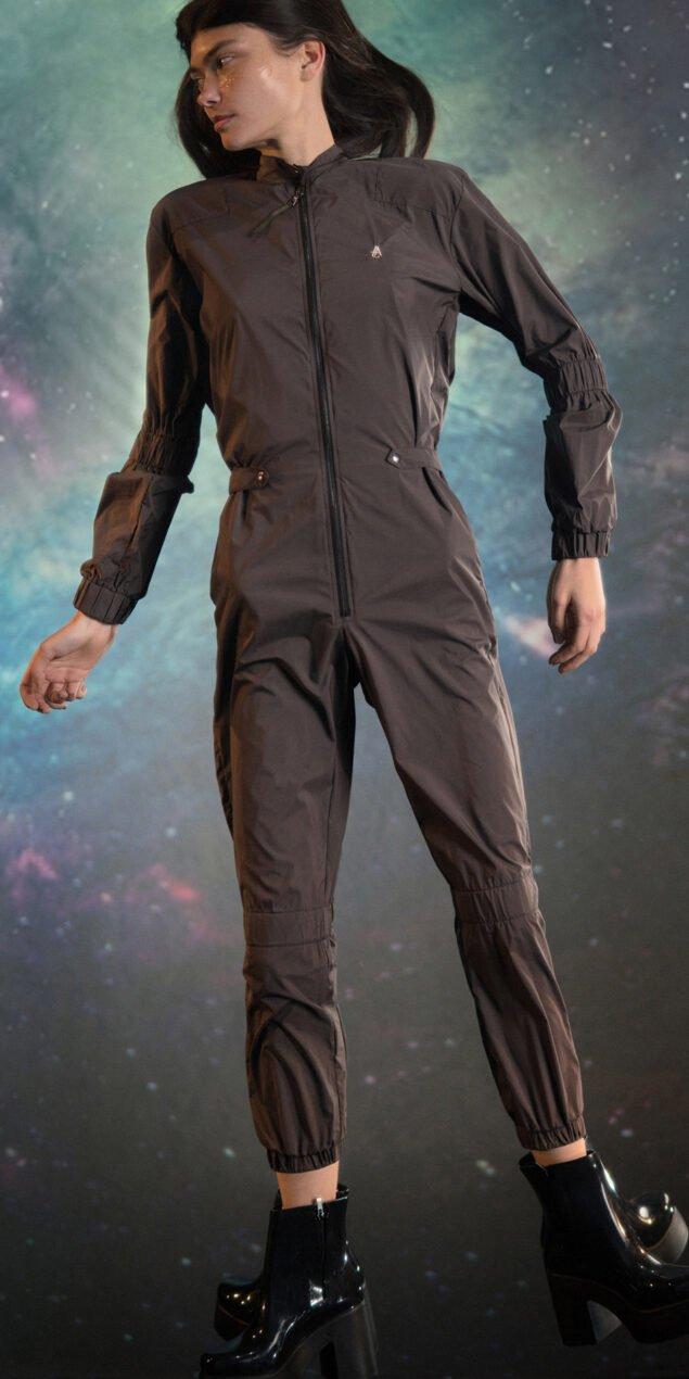 APOLLO chocolate jumpsuit 1