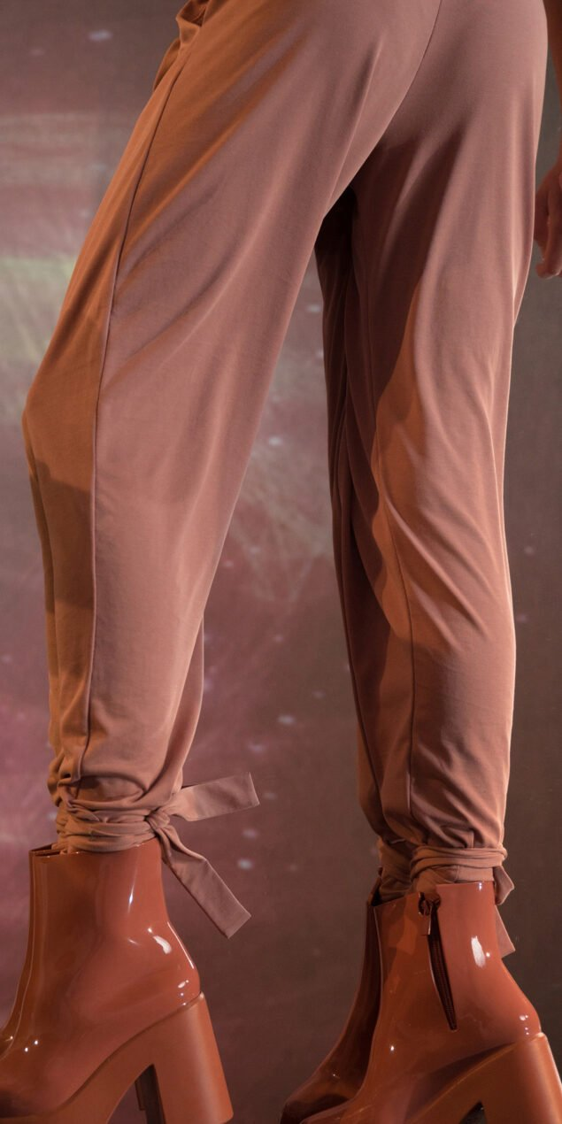 BALLERINA blush carrot pants 2 1