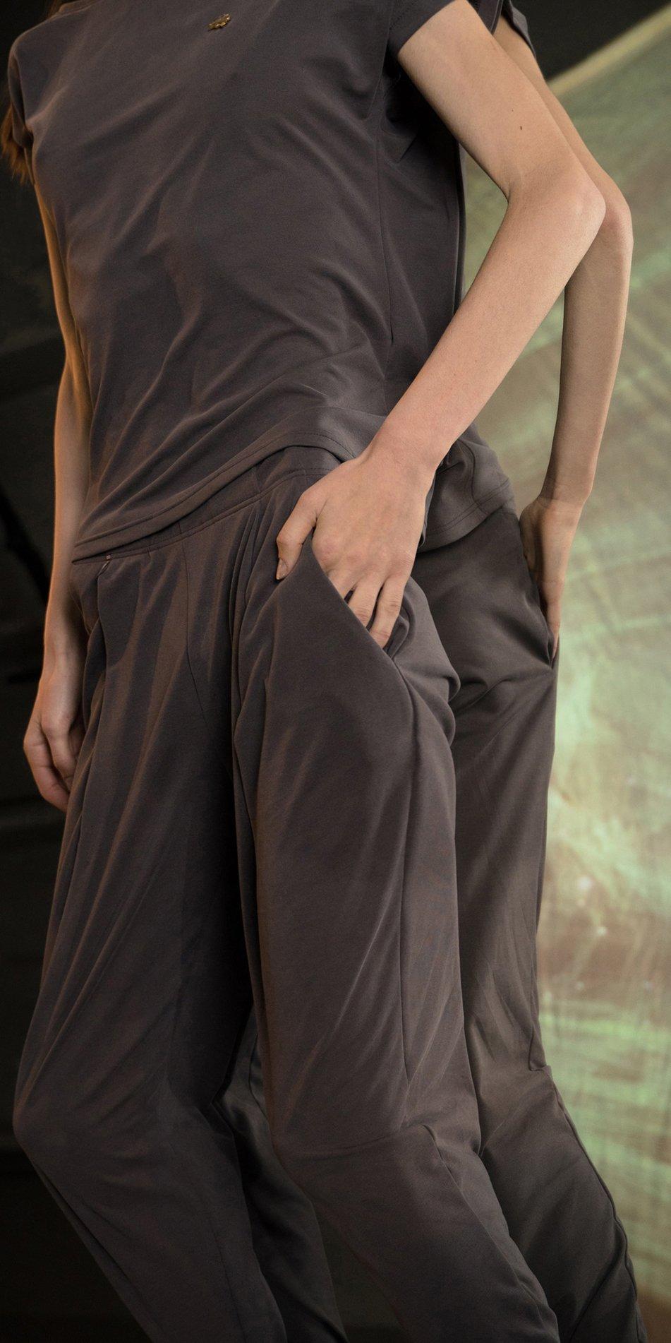 BALLERINA chocolate carrot pants 5