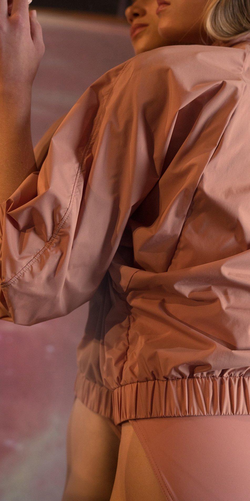 BOMBER blush batwing jacket 2