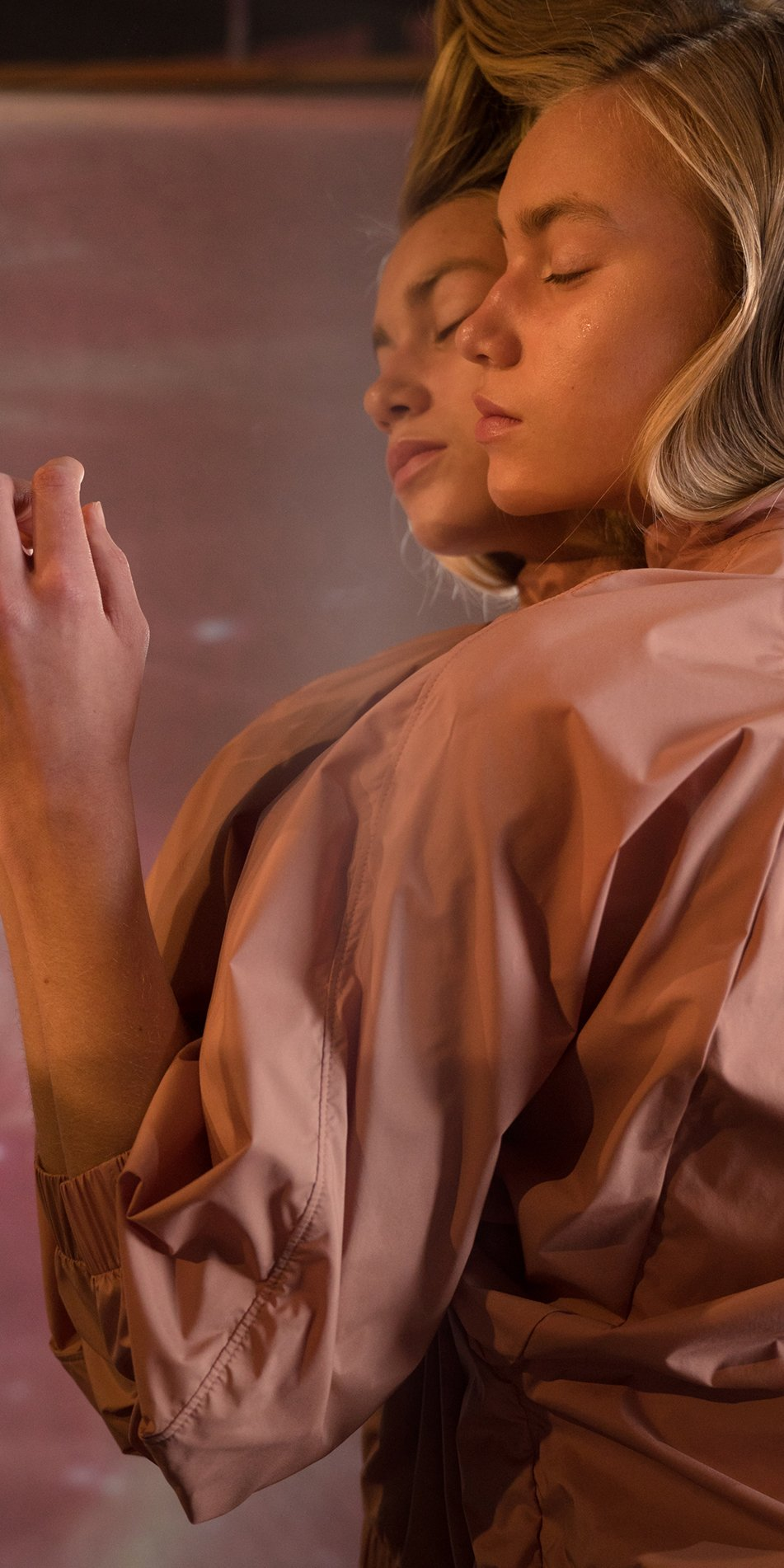 BOMBER blush batwing jacket 3