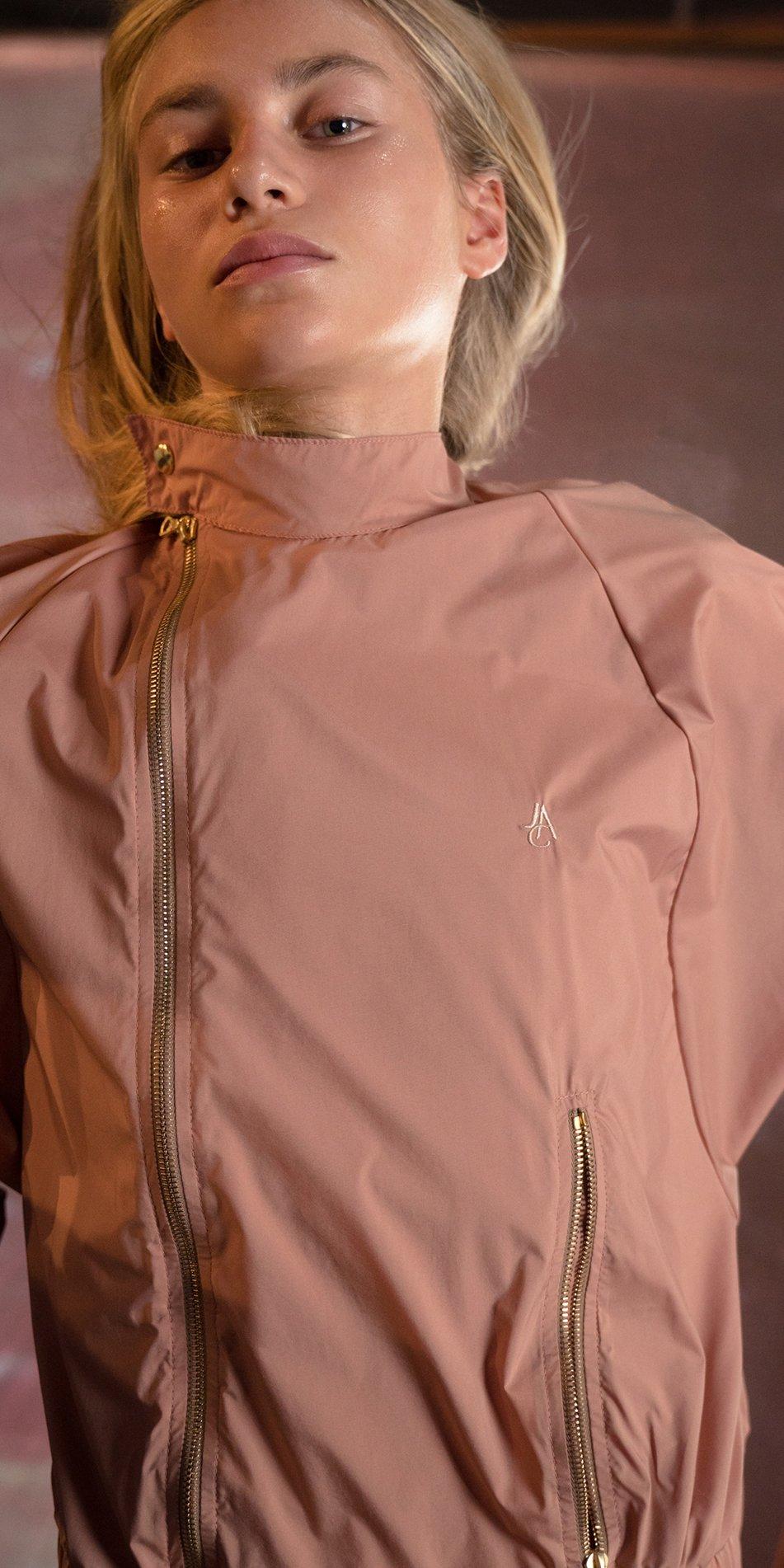 BOMBER blush batwing jacket 7