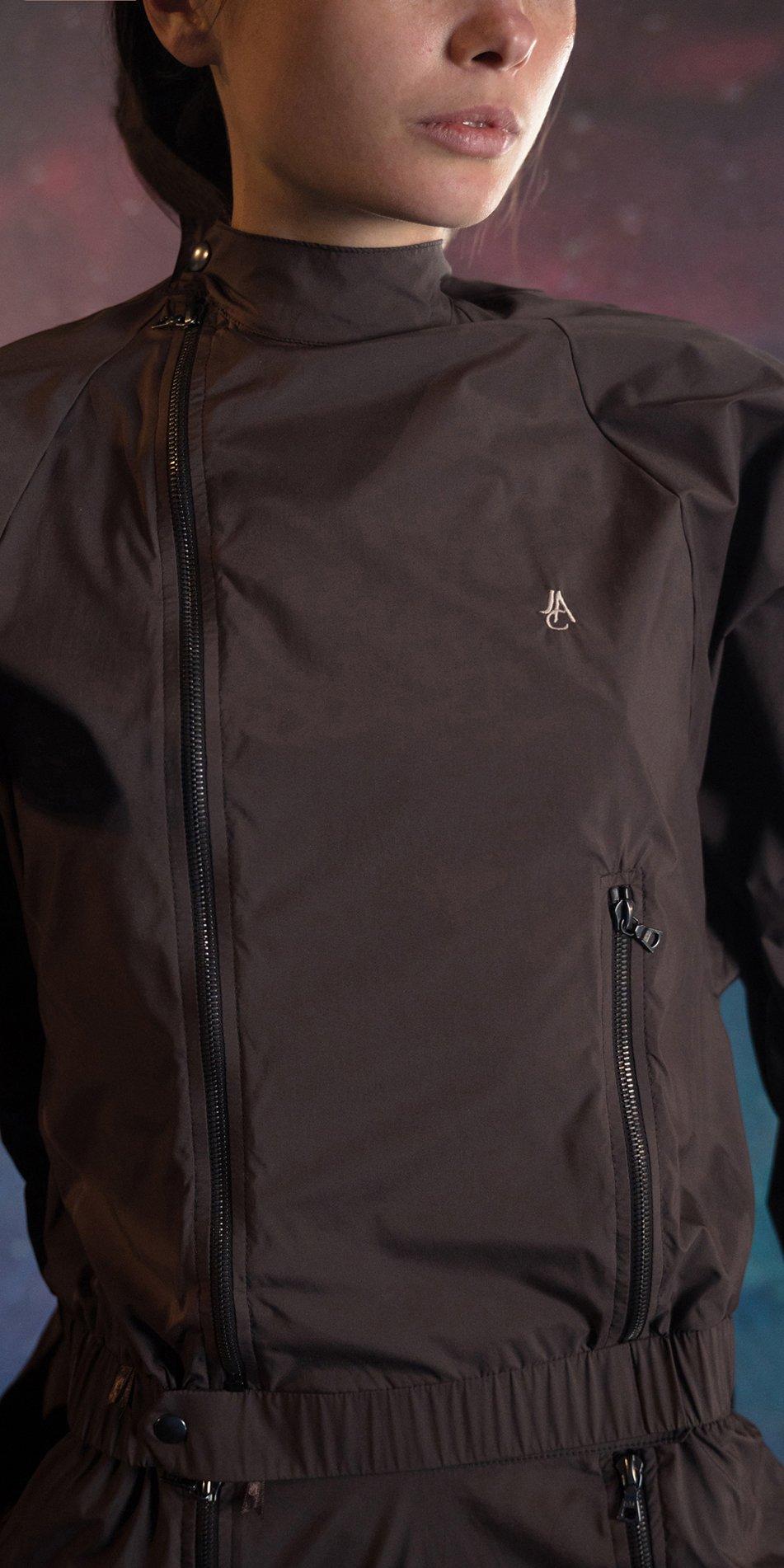 BOMBER chocolate batwing jacket 3