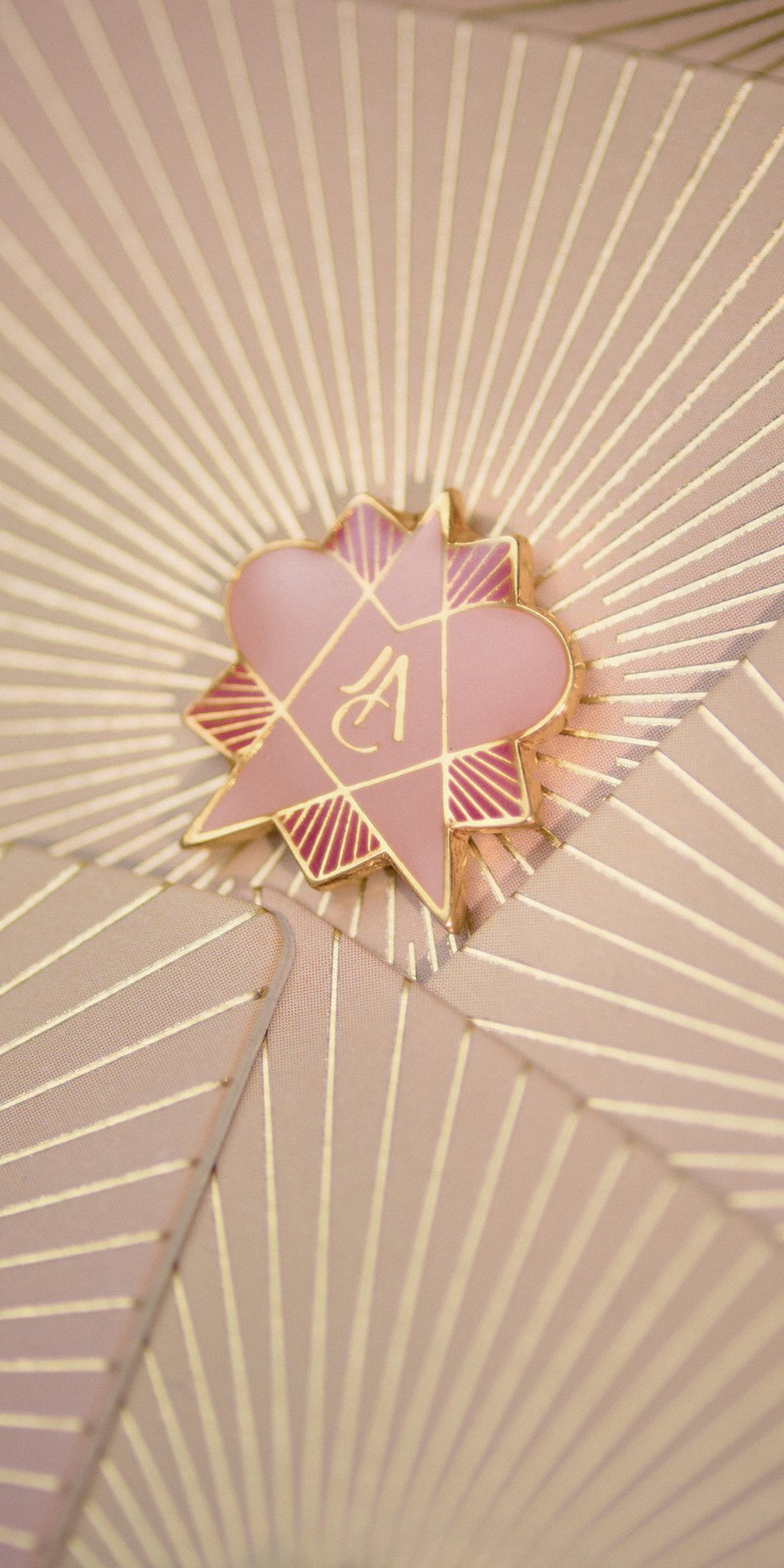 STEARHEART enamel magnetic pin arcturus 2