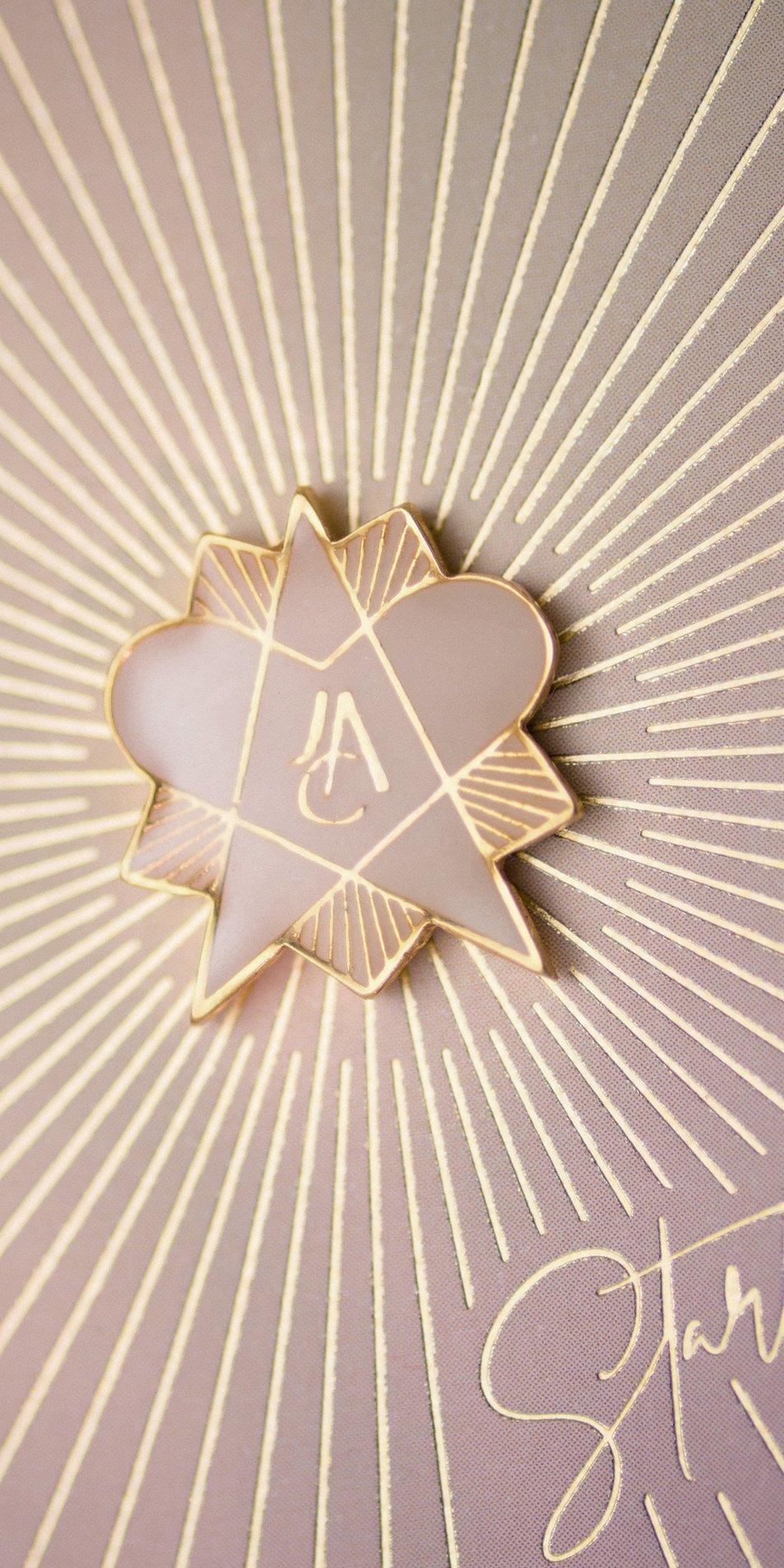 STEARHEART enamel magnetic pin canopus 4