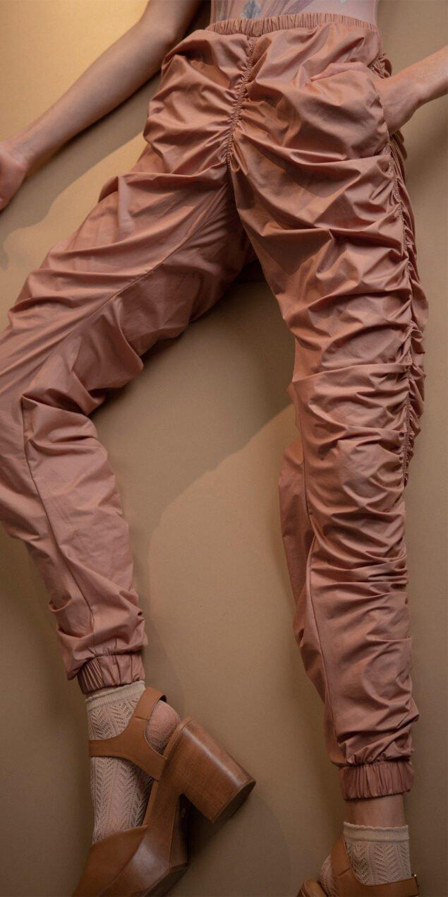 PARACUTE blush draped pants Bloom 2
